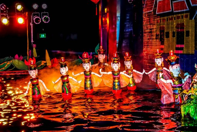Vé xem múa rối nước tại Nhà hát Nghệ thuật Cánh Diều - Suất trẻ em