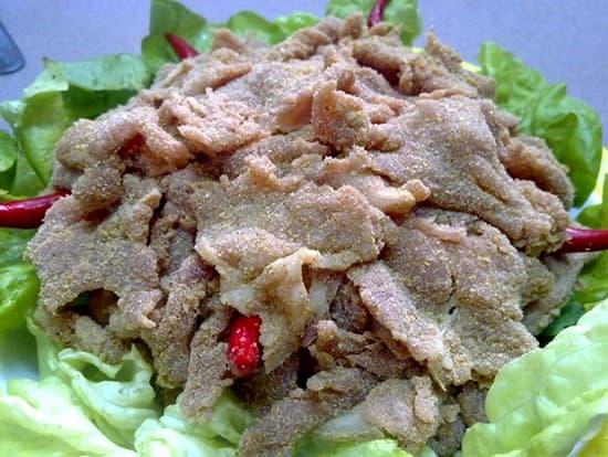 Thịt lợn muối chua