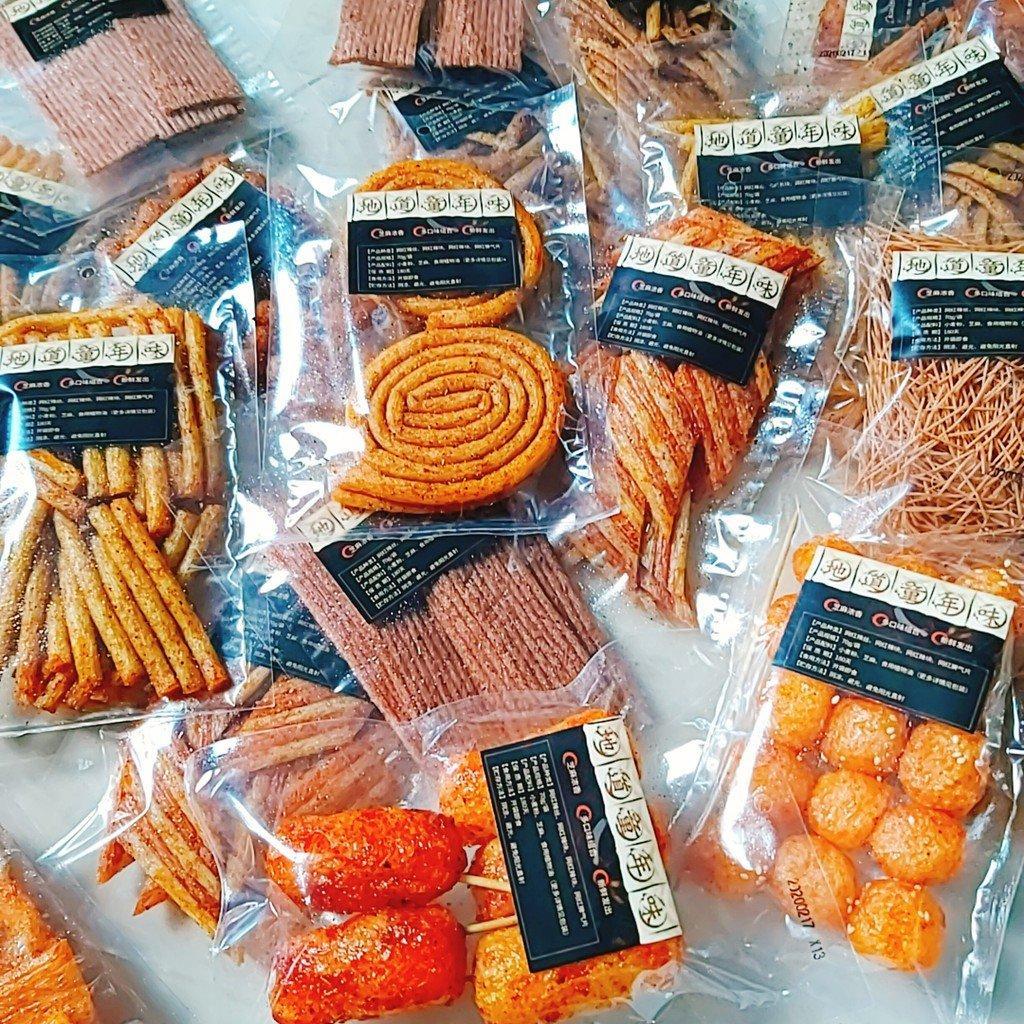 Truy lùng 9 món đồ ăn vặt Trung Quốc siêu hot đang làm điên đảo dạ dày giới trẻ Việt - BlogAnChoi